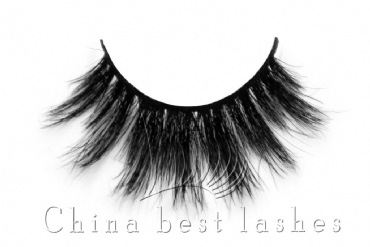 Customed packaging pony hair false eyelash m07