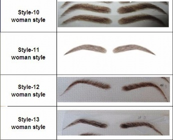 eyebrows, customized order is available